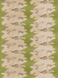 VERVAIN LES PLUMES CHINTZ FABRIC SAVOY CABBAGE