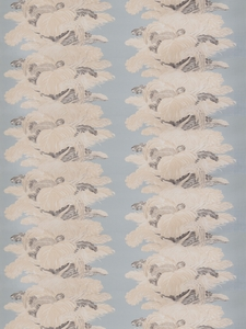 VERVAIN LES PLUMES CHINTZ FABRIC WELL WATER