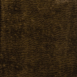 VERVAIN PERSIAN CLOUD VELVET FABRIC WALNUT