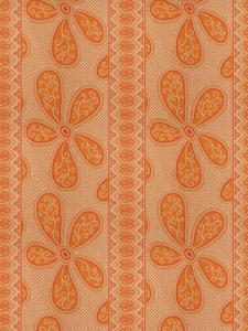 VERVAIN PUYCELSI COTTON FABRIC MANGO