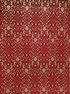 VERVAIN REGALIA VELVET FABRIC RUBY