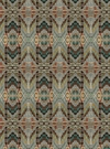 VERVAIN RYTHMIC WOVEN PRINTED FABRIC CANYON