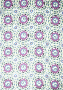 VERVAIN SOLETTA ON LINEN PRINTED FABRIC SPRING