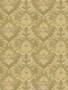 VERVAIN TUNISIAN BROCADE FABRIC LIMELIGHT