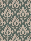 VERVAIN ZAIDA IKAT KILIM FABRIC DEEP SEA