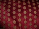 ZIMMER & RHODE DISTINCTION CUT VELVET POLKA DOTS FABRIC 10 YARDS
