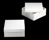 "1719x3480 - 14"" x 14"" x 6"" White/White Lock & Tab Box Set without Window, 50 COUNT. A21xA12"