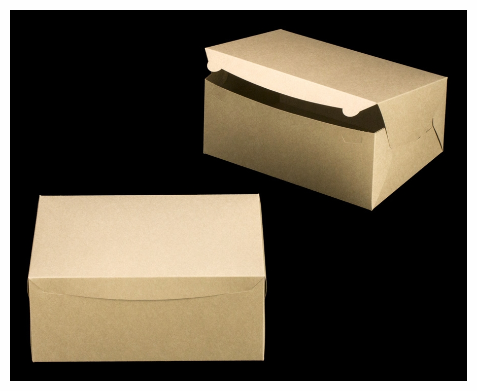 2382 14 x 10 x 6 brown brown lock tab box without for 14 x 21 window