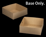 "2395 - 16"" x 16"" x 6"" Brown/Brown Lock & Tab Box Base Only"