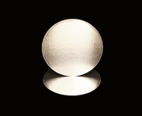 2730 - 8 Inch Cake Round, Silver Foil Single Wall Corrugated Cake Board. C03