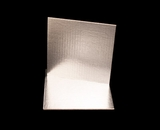 2736 - 9 Inch Cake Board, Silver Foil Single Wall Corrugated. C04