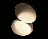 2746 - 14 Inch Cake Round, Silver Foil Single Wall Corrugated Cake Board. H09
