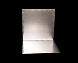 2748 - 14 Inch Cake Board, Silver Foil Single Wall Corrugated. H11