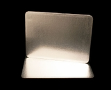 2756 - Half Sheet Cake Board, Silver Foil Single Wall  Corrugated. H13