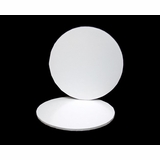 2809 - 16 inch White Cake Drum Round, 1/2 inch thick coated corrugated