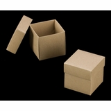 "3069x2893 - 4"" x 4"" x 4"" Brown/Brown Simplex Box Set, without Window"