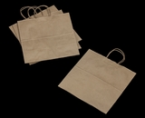 "3248 - Star Kraft Shopping Bag with Handle 13"" x 7"" x 13"" - 100ct. A14"