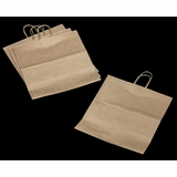 "3252 - Grande Kraft Shopping Bag with Handle 16"" x 11"" x 18 1/4"""