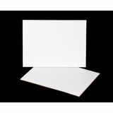 3395 - 12 x 9 Inch Cake Board, White Single Wall Corrugated, 50 COUNT