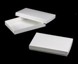 "3519x3504 - 9 1/2"" x 6"" x 1 1/4"" White/White Two Piece Simplex Box Set, without Window"