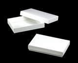 "3523x3527 - 7"" x 4 3/8"" x 1 1/4"" White/White Two Piece Simplex Box Set, without Window"