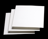 "3607 - 12"" x 12"" White Grease Resistant Cookie Card"
