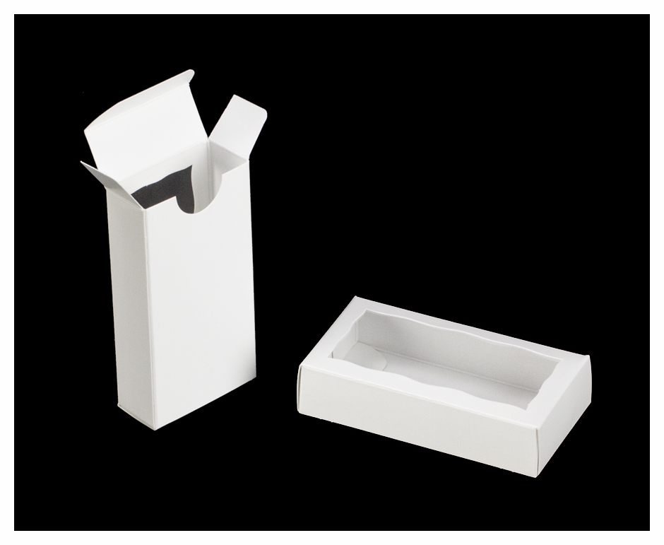 3655 4 5 16 Quot X 2 1 4 Quot X 1 Quot White White Double Favor Box
