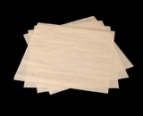 "3789 - 12"" x 12"" Kraft, Grease Proof Paper, 1000 Count. B08"