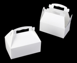 "867 - 8 1/2"" x 5 1/2 "" x 3 1/2"" White/White Auto Bottom Gable Top Box. A16"