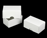 "954x955 - 3 3/4"" x 2 1/4"" x 2"" White/White Two Piece Simplex Set"
