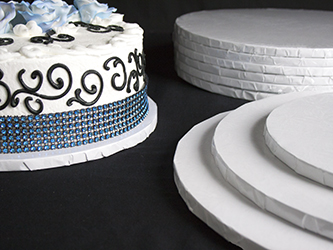 8 Inch Round Wedding Birthday Cake Drum Board And Box