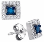 10KT White Gold 0.21CT-DIA FASHION EARRINGS - Earrings