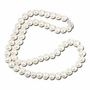 "14k White Gold Cultured Pearl Strand Pendant Necklace Chain (18"""")"