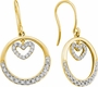 14KT Yellow Gold 0.26CTW DIAMOND FASHION EARRINGS - Earrings