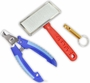 3 Piece Pet Care Set With Nail Clipper, Wire Brush And Dog Whistle :  ( Pack of  1 Pc ) -