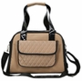 Airline Approved Mystique Fashion Pet Carrier - Brown