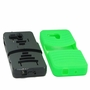 Alcatel One Touch Fierce XL Hybrid Silicone Case Cover Stand Green