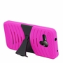 Alcatel One Touch Fierce XL Hybrid Silicone Case Cover Stand Pink
