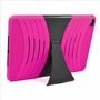 Apple Ipad Air 2 Hybrid Silicone Case Cover Stand Pink