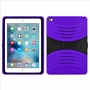 Apple Ipad Air 2 Hybrid Silicone Case Cover Stand Purle