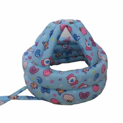 Baby & Infant Toddler Safety Helmet Head Protection Cap Candy Blue (Adjustable)