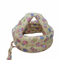 Baby & Infant Toddler Safety Helmet Head Protection Cap Candy Yellow(Adjustable)