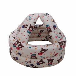 Baby & Infant Toddler Safety Helmet Head Protection Cap Cute Bear (Adjustable)