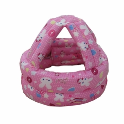Baby & Infant Toddler Safety Helmet Head Protection Cap Pink Rabbit (Adjustable)