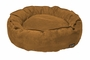 Big Shrimpy Home Garden Pet Dog Nest Bed - Small/Saddle Suede