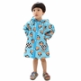 BLUE Monkey Toddler Rain Day Outerwear Baby Rain Jacket Infant Raincoat S