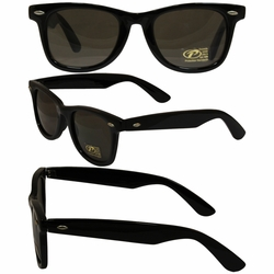 Blues Bros Black Frame Glasses with Smoke Lenses -