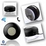Bluetooth Waterproof Wireless Shower Handsfree Mic Suction Chuck Speaker Black