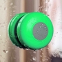 Bluetooth Waterproof Wireless Shower Handsfree Mic Suction Chuck Speaker Green