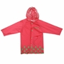 Cute Baby Rain Jacket Infant Raincoat Toddler Rain Wear ROSE Giraffe M